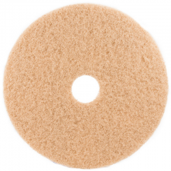 Tan burnish pads